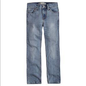 Boy's Levi's 505 Straight Fit Jeans, 10 Husky🆕
